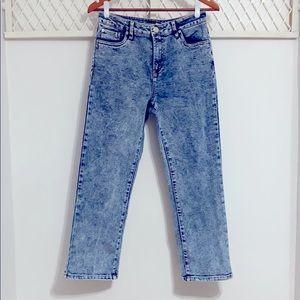 FASHION NOVA Stonewashed Mom Jeans
